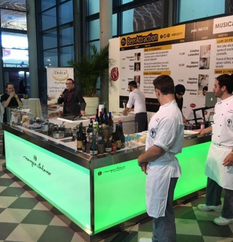 Mangia Italiano a Beer Attraction a Rimini