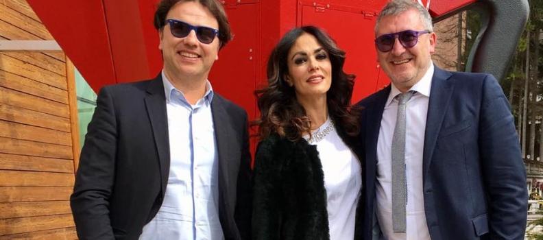 La splendida Maria Grazia Cucinotta con BELLAKUP