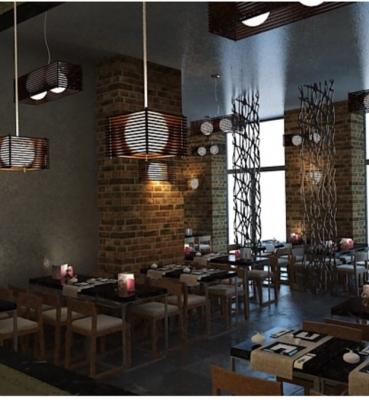 Arredamento Sushi Restaurant